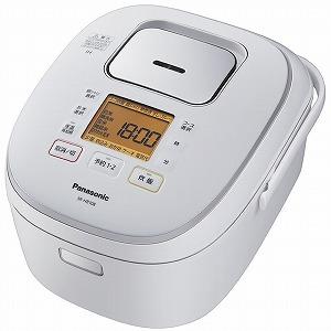 パナソニック IH炊飯器 [5.5合] SR-HB108-W ホワイト