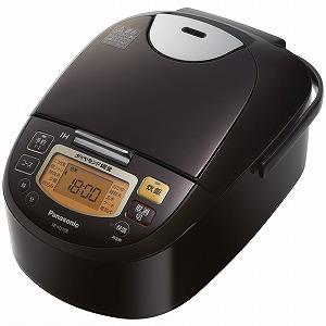 パナソニック IH炊飯器 [5.5合] SR-FD108-T ブラウン