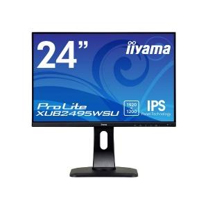 マウスコンピューター iiyama 液晶 24.1型 ProLite XUB2495WSU-B1 マーベルブラック