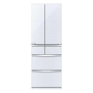 三菱 6ドア冷蔵庫(517L・フレンチドア) MR-WX52D-W クリスタルホワイト(標準設置無料)