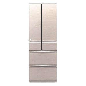 三菱 6ドア冷蔵庫(517L・フレンチドア) MR-WX52D-F クリスタルフローラル(標準設置無料)
