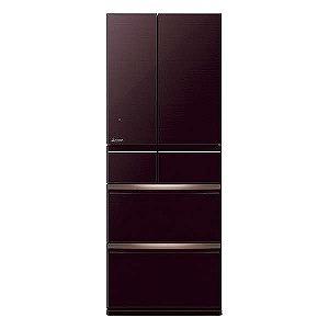 三菱 6ドア冷蔵庫(470L・フレンチドア) MR-WX47LD-BR クリスタルブラウン(標準設置無料)