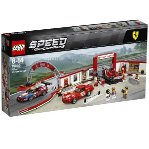 LEGO レゴブロック スピードチャンピオン 75889 フェラーリ・アルティメット・ガレージ(送料無料)