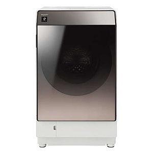 シャープ ドラム式洗濯乾燥機 (洗濯11.0kg /乾燥6.0kg/右開き) ES-U111-TR ブラウン系(標準設置無料)