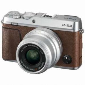 富士フイルム ミラーレス一眼カメラ 【XF23mmF2レンズキット】 X-E3 ブラウン