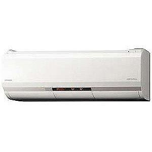 日立 エアコン メガ暖 白くまくん XKシリーズ 2.5kW おもに8畳用 RAS-XK25J-W 【フィルター自動お掃除機能付】 (標準取付工事費込)