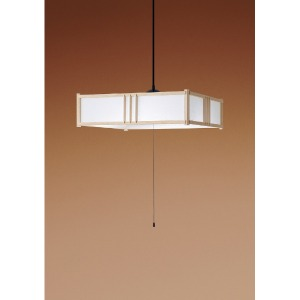 パナソニック LED和風ペンダントライト (~8畳) HHPD0851D