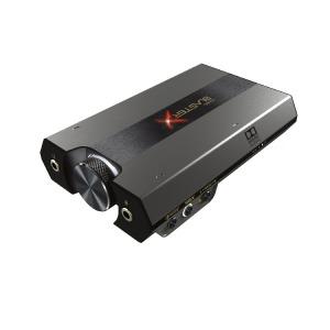 クリエィティブ ゲーミングUSBオーディオインターフェース Sound BlasterX G6 SBXG6