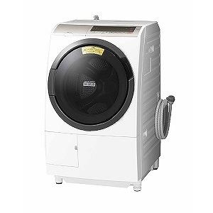 日立 ドラム式洗濯乾燥機 (洗濯11.0kg /乾燥6.0kg/左開き) BD-SV110CL-N シャンパン(標準設置無料)