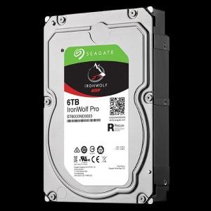 「バルク品・保証無」内蔵HDD 6TB IronWolf Pro ハードディスク・ドライブ ST6000NE0023