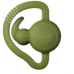 ワイヤレスヘッドセット 片耳イヤホンタイプ エクストリームコミュニケーションギア BONXGRIPグリーン(GN4(送料無料)