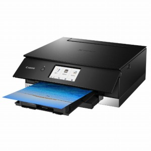 キヤノン CANON インクジェット複合機「PIXUS(ピクサス)」[カード・名刺~A4対応/USB2.0/無線LAN] PIXUSTS8230BK ブラック