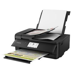 キヤノン CANON ビジネスインクジェット複合機[カード・名刺~A3対応/USB2.0/無線・有線LAN/ADF搭載] TR9530BK (ブラック)