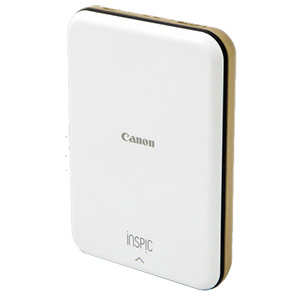 Canon スマートフォン専用ミニフォトプリンター iNSPiC PV-123-GD ゴールド