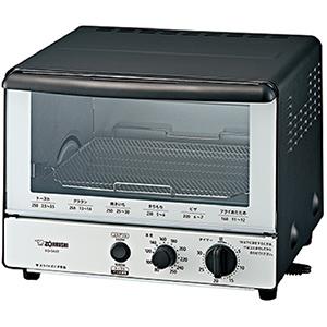 象印 オーブントースター 「こんがり倶楽部」 [1000W/食パン2枚] EQ-SA22-BW