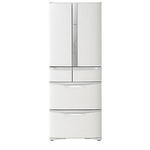 日立 6ドア冷蔵庫(475L・フレンチドアタイプ) R-F48M3-W パールホワイト(標準設置無料)