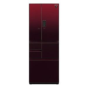シャープ 6ドア冷蔵庫(502L・フレンチドアタイプ) SJ-GX50E-R グラデーションレッド(標準設置無料)