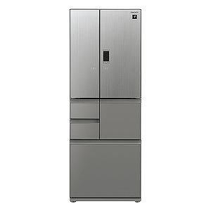シャープ 6ドア冷蔵庫(502L・フレンチドアタイプ) SJ-GX50E-S エレガントシルバー(標準設置無料)
