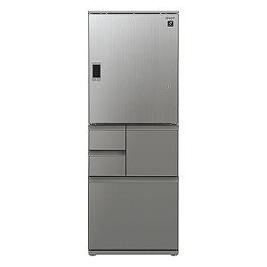 シャープ 5ドア冷蔵庫(502L・どっちもドア) SJ-WX50E-S エレガントシルバー(標準設置無料)