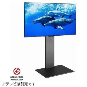 ナカムラ 32V~60V型対応 WALL ウォール 壁寄せテレビスタンドV2 ハイタイプ ブラック M05000103(ブラ