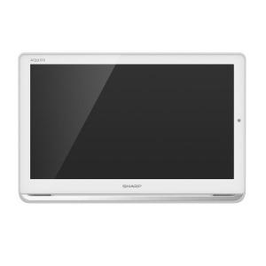 シャープ SHARP 16V型ポ-タブル液晶テレビ[HDD内蔵/防水対応]AQUOSアクオス 2T-C16APW ホワイト