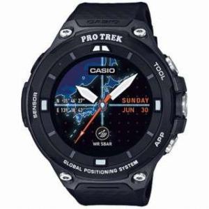 CASIO スマートウォッチ 「Smart Outdoor Watch PRO TREK Smart」 WSD-F20-BK (ブラック)