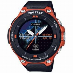 CASIO スマートウォッチ 「Smart Outdoor Watch PRO TREK Smart」 WSD-F20-RG (オレンジ)