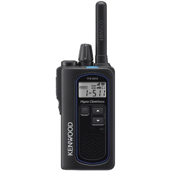 ケンウッド ハイパワー・デジタルトランシーバー TPZ-D510 ブラック