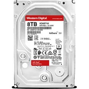 ウエスタンデジタル 「バルク品・保証無」WD Red NAS Storage SATA6G接続ハードディスク WD80EFAX