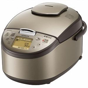 日立 炊飯器 ライトブラウン [圧力IH/5.5合] RZ-BG10M-T