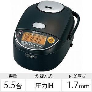 象印 炊飯器 極め炊き NP-ZV101BK-BA 【ビックカメラグループオリジナル】 ブラック(送料無料)