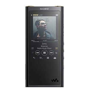 ソニー ハイレゾウォークマン WALKMAN ZXシリーズ 2018年モデル[イヤホンは付属していません] NW-ZX300G BM ブラック [128GB /ハイレゾ対応](送料無料)