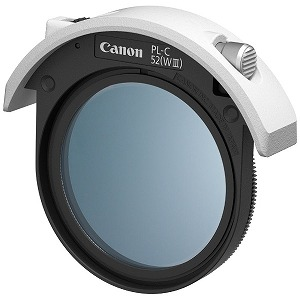 Canon ドロップイン円偏光フィルター PL-C52(WIII)