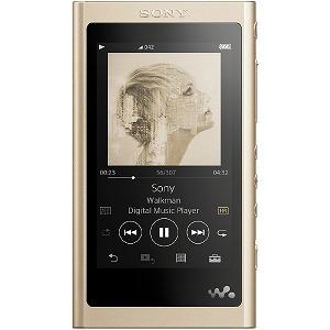 ソニー ハイレゾ対応ウォークマン(64GB)「WAシリーズ」 NW-A57 (NM)ペールゴールド[イヤホンは付属していません]