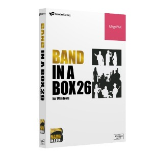 PGMUSIC Band-in-a-Box 26 for Win MegaPAK PGBBQMW111