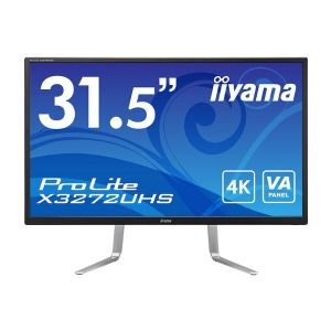 マウスコンピューター iiyama 液晶 31.5型 ProLite X3272UHS X3272UHS-B1 マーベルブラック