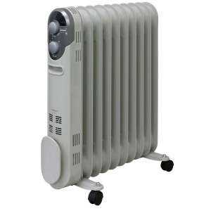 山善 オイルヒーター DO-TL125-W