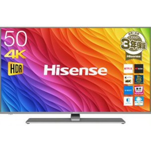 ハイセンス 50V型 4K対応液晶テレビ 50A6500(標準設置無料)