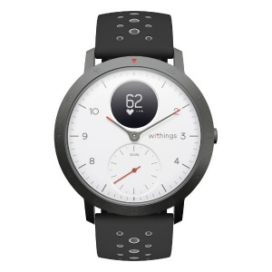 WITHINGS ウェアラブル端末(ウォッチタイプ) 「Steel HR Sport - White」 HWA03B-40white-sport-all-Asia