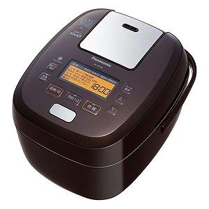 パナソニック 可変圧力IH炊飯器 「可変圧力おどり炊き」(5.5合) SR-PA108-T ブラウン