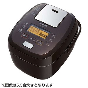 パナソニック 可変圧力IH炊飯器 「可変圧力おどり炊き」(1升) SR-PA188-T ブラウン