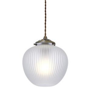 ペンダントライト E26/60W相当 一般電球型LED電球付 「Charmant」 LT-3126FR [電球色]