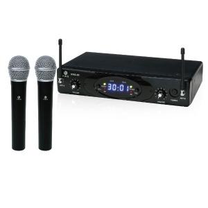 デュアルワイヤレスハンドマイクシステム KWS-2H/H
