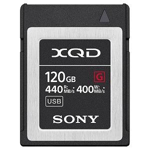 ソニー 120GB XQDメモリーカード(Gシリーズ) QD-G120F