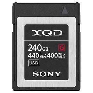 ソニー SONY 240GB XQDメモリーカード(Gシリーズ) QD-G240F