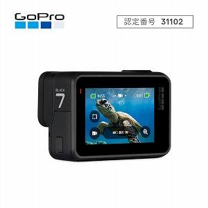 GOPRO マイクロSD対応 4Kムービー ウェアラブルカメラ GoPro HERO7 CHDHX-701-FW ブラック