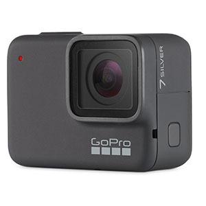 GOPRO マイクロSD対応 4Kムービー ウェアラブルカメラ GoPro HERO7 CHDHC-601-FW シルバー