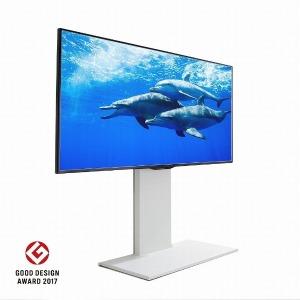 ナカムラ 32V~60V型対応 WALL ウォール 壁寄せテレビスタンドV2 ロータイプ ホワイト D05000009(ホワイ