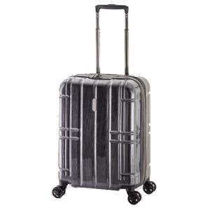 A.L.I TSAロック搭載スーツケース ハードキャリー(40L) ALIMAX185 ガンメタブラッシュ(送料無料)