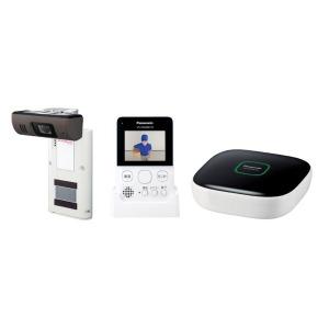 パナソニック ホームネットワークシステム(モニター付きドアカメラキット) VS-HC400K-W ホワイト